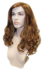 Euro-Line Female Mannequin Medium Brown Wig, long