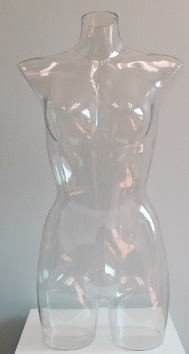 Ladies Full Round ClearView Torso Form