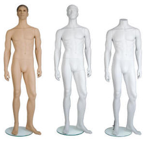 Edgar Male Mannequin options